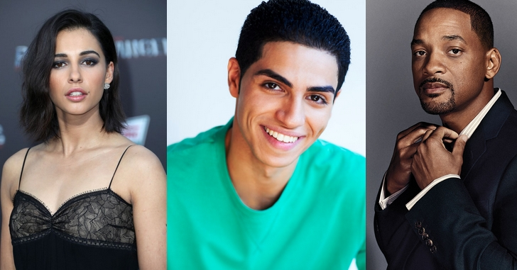 Elenco do live-action de Aladdin é revelado